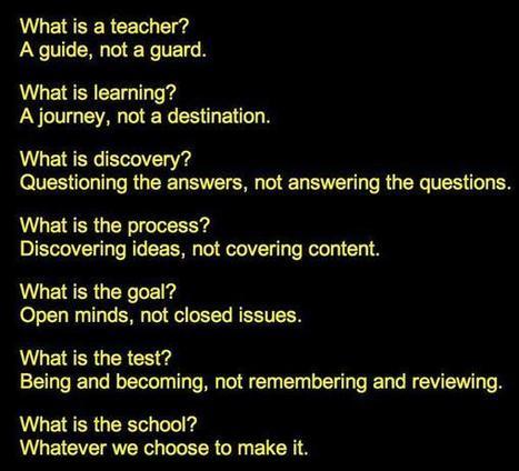 What is a teacher? | GRC HBC Professional Reading | Scoop.it