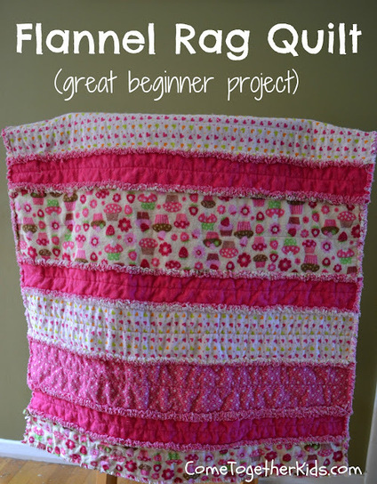 Come Together Kids: Flannel Rag Quilt | Easy Sewing Projects for Kids | Scoop.it