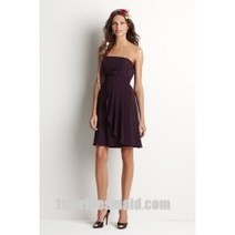 A-line Bateau Chiffon Bridesmaid Dress With Flower(BD0807) | Press Release from dressmebridal.co.uk | Scoop.it