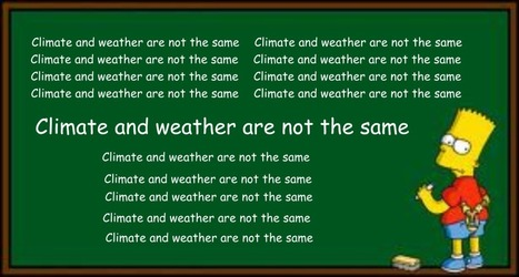 2015 Global Temp, Or How Some Scientists Deliberately Mistook Weather For Climate | Liberty Revolution | Scoop.it
