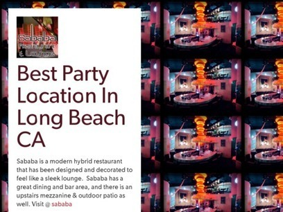 Best Party Location In Long Beach CA | Sababa Restaurants | Scoop.it