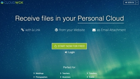 CloudWok. Collectez des fichiers d'un groupe de personnes - Les Outils Collaboratifs | Les outils du Web 2.0 | Scoop.it