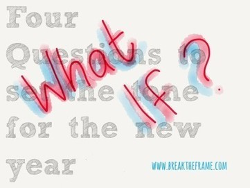 Four Questions to Ask Before the New Year — Break The Frame | Good News For A Change | Scoop.it