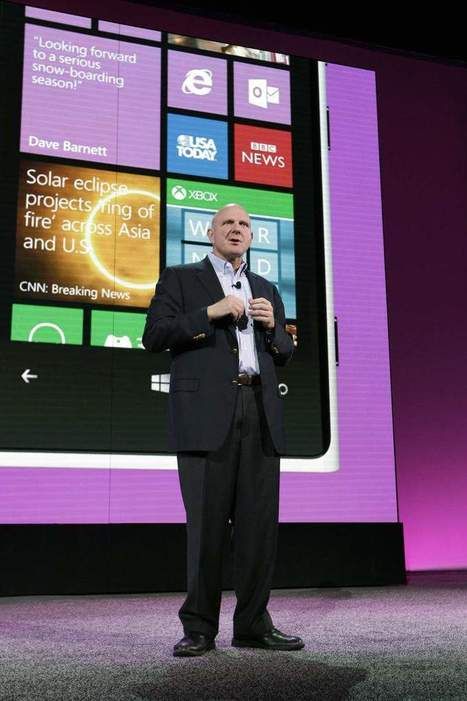 Microsoft unveils Windows 8 phone breakthroughs - The News Journal   Essential Mobile   Scoop.it