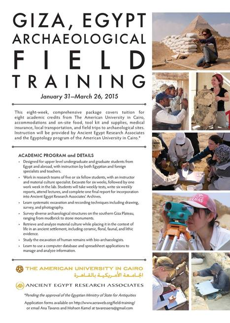 AUC-AERA Archaeological Field Training Program | | Egyptology and Archaeology | Scoop.it