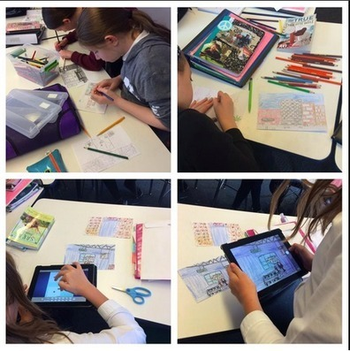Thinking Outside the Blog : Digital Storytelling: Comic Life | iPad Apps in the Classroom | Scoop.it