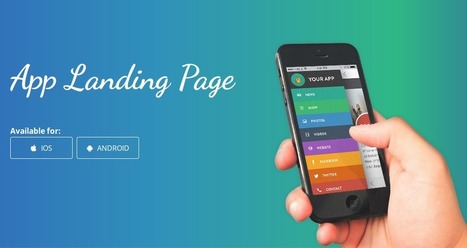 Why is a Landing Page Essential for Your App?   iPhone Applications Development   Scoop.it