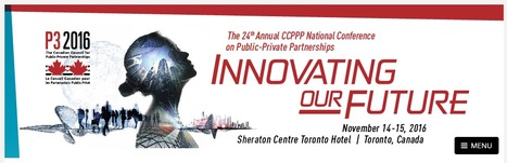 24th Annual National Conference on Public Private Partnerships; November 14th - 15th in Toronto, ON | More Commercial Space News | Scoop.it