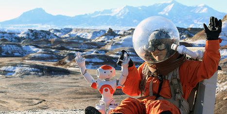 NAO is the first robot that goes to Mars | Robotics by Aldebaran | Scoop.it