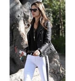 Alessandra Ambrosio Jacket | Designers Women Leather Jackets & Pants | Scoop.it