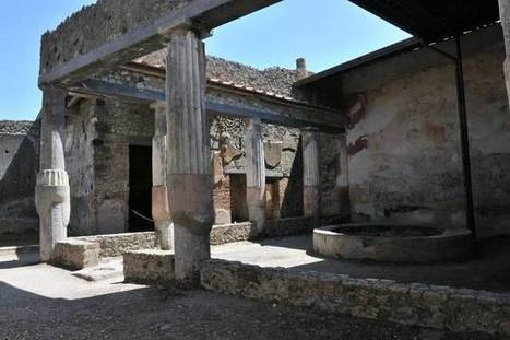 Pompeii seduces thousands with 10 new houses - ANSAmed | ancient history core study: cities of vesuvius | Scoop.it