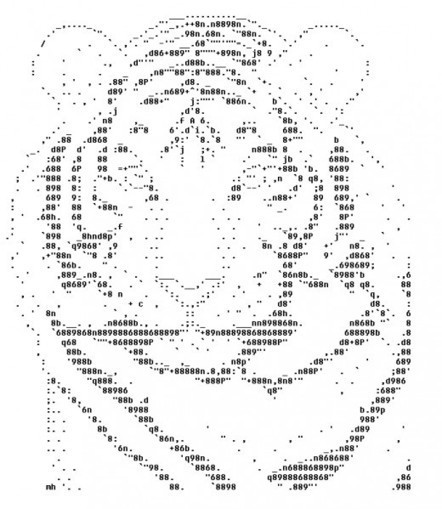 Year of the Tiger: Happy New Year ASCII Text Art | ASCII Art | Scoop.it