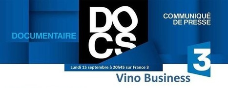 "Isabelle Saporta | ""Vino Business"" sur France 3 