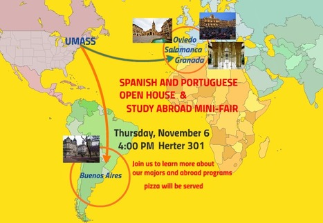 SPANISH & PORTUGUESE      OPEN HOUSE AND STUDY ABROAD MINI FAIR on Nov. 6 | The UMass Amherst Spanish & Portuguese Program Newsletter | Scoop.it