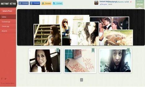 InstantRetro, gran colección de efectos online para dar a tus fotos apariencia retro | Pedalogica: educación y TIC | Scoop.it