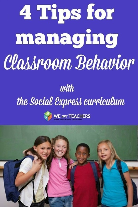WeAreTeachers: 4 Simple Tips for Managing Classroom Behavior With the Social Express | Innovation Disruption in Education | Scoop.it