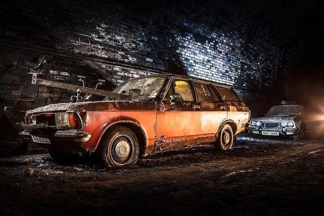 Old cars discovered in underground tunnel | Urban Decay Photography | Scoop.it