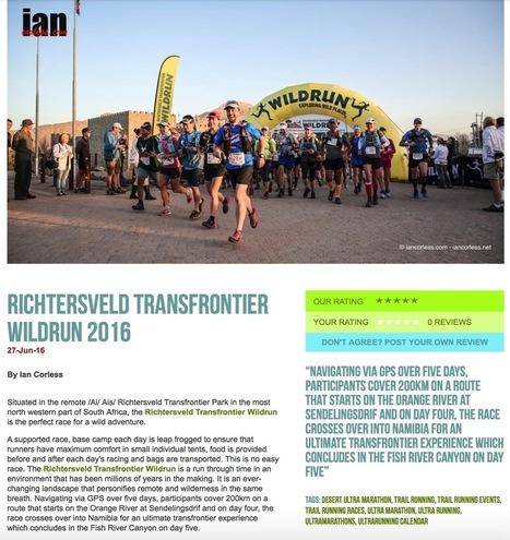 Richtersveld Transfrontier Wildrun 2016 on RUNULTRA | Talk Ultra - Ultra Running | Scoop.it