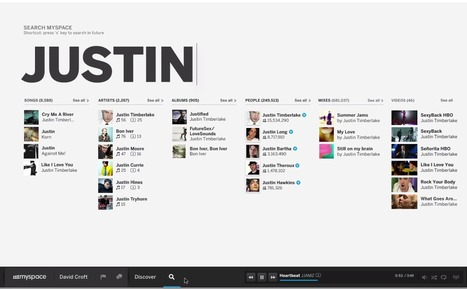 What the New, Unreleased Myspace Will Offer Artists and Fans | Music business | Scoop.it