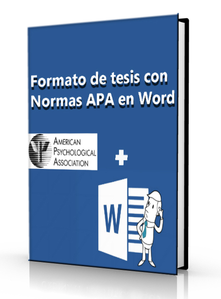 Formato de tesis con normas APA en word – DOC | Bibliotecas y Educación Superior | Scoop.it