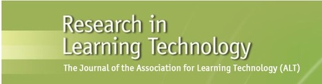 Teaching with wikis: improving staff development through action research Research in Learning Technology   La didactique au collégial   Scoop.it