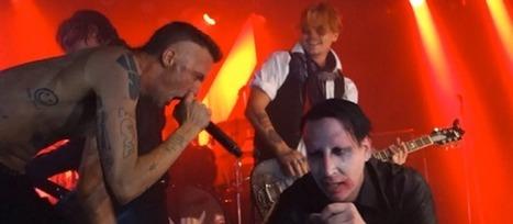 Marilyn Manson, Johnny Depp et Die Antwoord ont mis le feu pour Halloween | WebZeen | Actualité de la musique sur le Web | WebZeen | Scoop.it