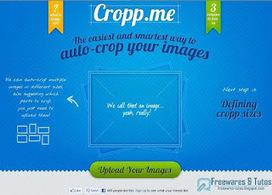 Cropp.me : un outil en ligne pratique pour redimensionner facilement ses images | Ac'tice | Scoop.it