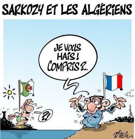 La presse algérienne se déchaîne contre Nicolas Sarkozy après son «dérapage»   Geopolis   actualité algerie   Scoop.it