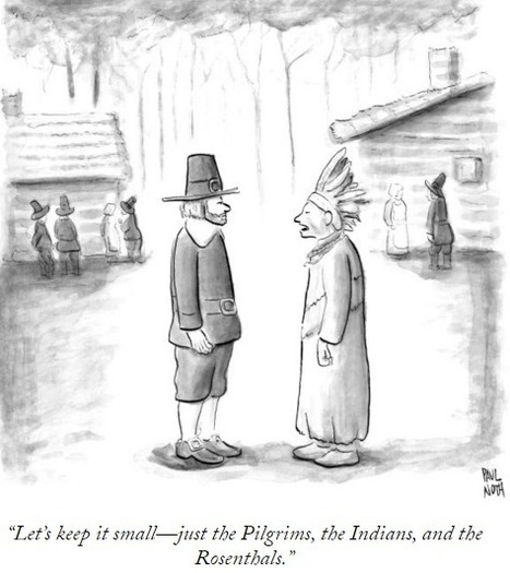 Cartoons for Thanksgiving - The New Yorker | Public Relations & Social Media Insight | Scoop.it