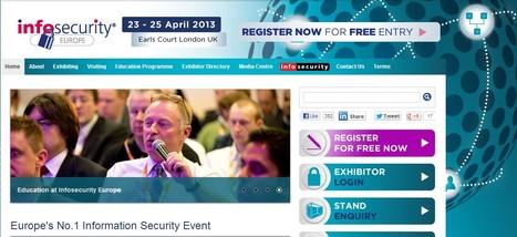 Infosecurity Europe is Europe's number one Information Security event | Ciberseguridad + Inteligencia | Scoop.it