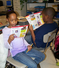 Corkboard Connections: Teaching Informational Text with Magazines | Reading and Writting | Scoop.it