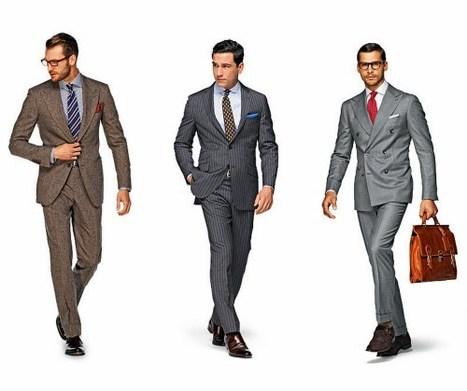 Assortir cravate et costume | Suivre la mode | Scoop.it