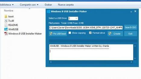 Instala #Windows8 RTM fácilmente desde #USB con #Win8USB | Desktop OS - News & Tools | Scoop.it