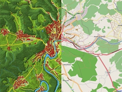 Pseudo-natural Maps | Digital Cartography | Scoop.it