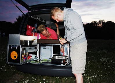 Box Transforms Your Car Into a Camper in One Minute Flat | Machinimania | Scoop.it