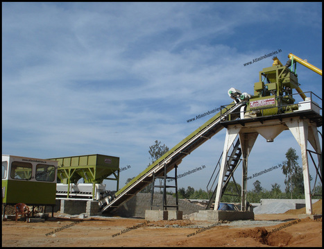 The characteristics of concrete batching plant | Road & Civil Construction Machinery | Scoop.it