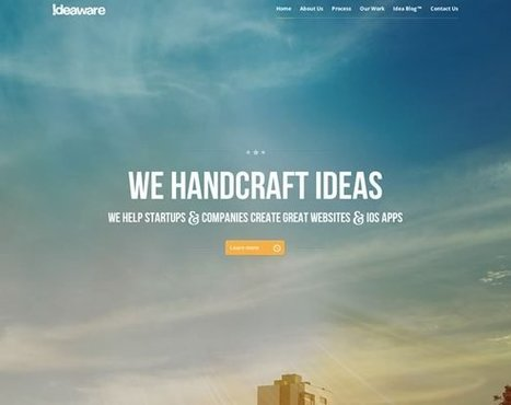 21 Examples of Beautiful Images in Web Design | Inspiration | Multimédia | Scoop.it