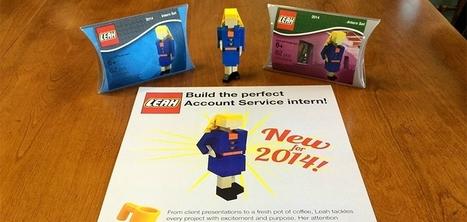 Une américaine de 20 ans envoie son CV sous la forme de LEGO à des agences de communication | La formation et l'emploi | Scoop.it