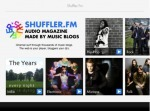 Shuffler.fm Launches Its Nifty 'Flipboard For Music' iPad App (With Angel ... - TechCrunch | Eclectic Music Blogs | Scoop.it