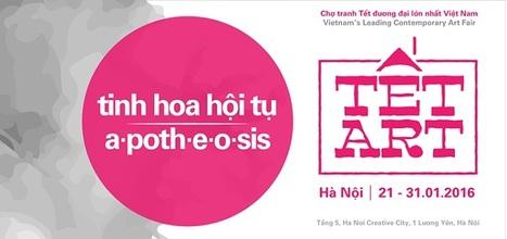 Tết Art 2016 - Vietnam's Leading Contemporary Art Fair   Liên-Viêt Réseau culturel France Vietnam   Scoop.it
