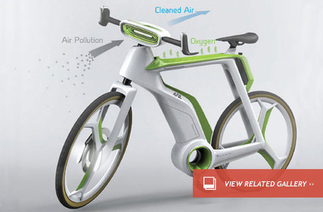 This Bike Will Purify the Air : DNews | geek-stuff | Scoop.it