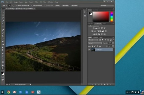 This is What Adobe's Cloud-Based Version of Photoshop Looks (and Works) Like | Working With Social Media Tools & Mobile | Scoop.it