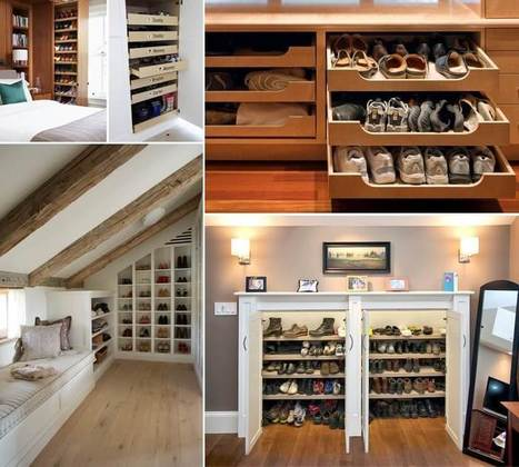 Organize Your Shoes in Style with These Ideas | Amazing interior design | Scoop.it