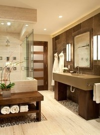 Personal Spa Bath - contemporary - bathroom - denver - by Ashley Campbell Interior Design | Bathrooms | Scoop.it