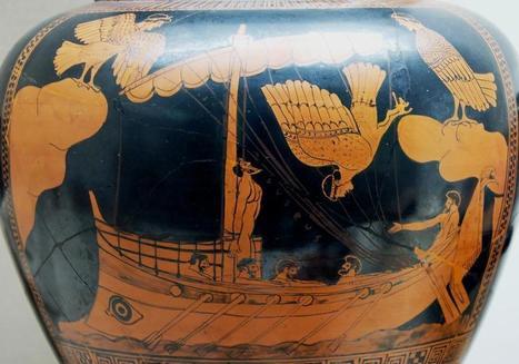 Ομήρου Οδύσσεια (pdf - αρχαίο κείμενο - μετάφραση Αργύρη Εφταλιώτη) | liddel scot | Scoop.it