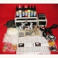 Professional Tattoo Kit Complete Kit With 2 Tattoo machines | Tatoos on the skin | Scoop.it