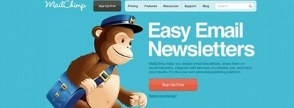 Comment configurer une Newsletter automatique avec MailChimp | Autour du Tuto | So What ? | Scoop.it
