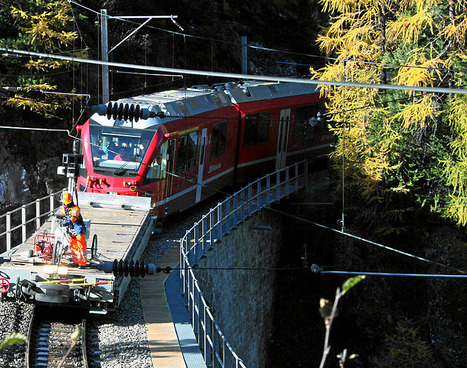 Official Google Blog: Street View hits the stunning Swiss Alps railways   GooglePlus Expertise   Scoop.it