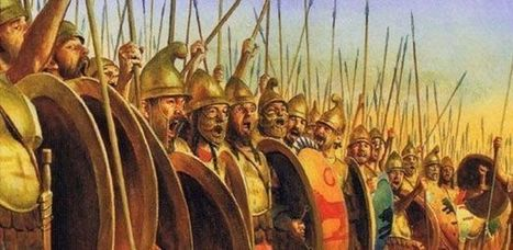 Batallón sagrado de Tebas, los hoplitas amantes | LVDVS CHIRONIS 3.0 | Scoop.it