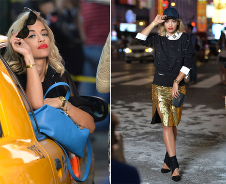Rita Ora is the new face of DKNY! | Fashion | Scoop.it